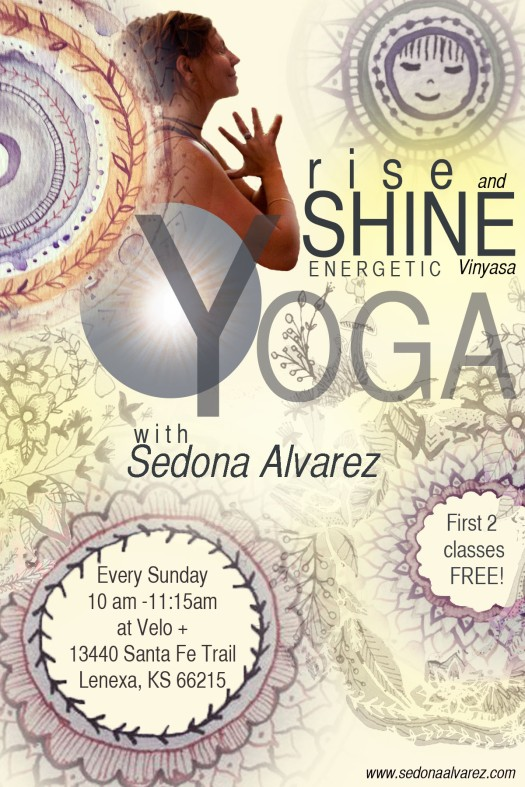 Rise and Shine Energetic Vinyasa Flow!