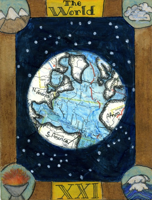 The World- Alicia Halligan