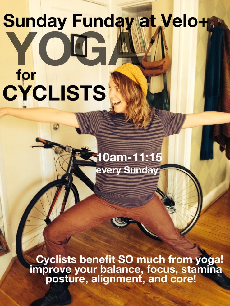yoga for cyclists!!!