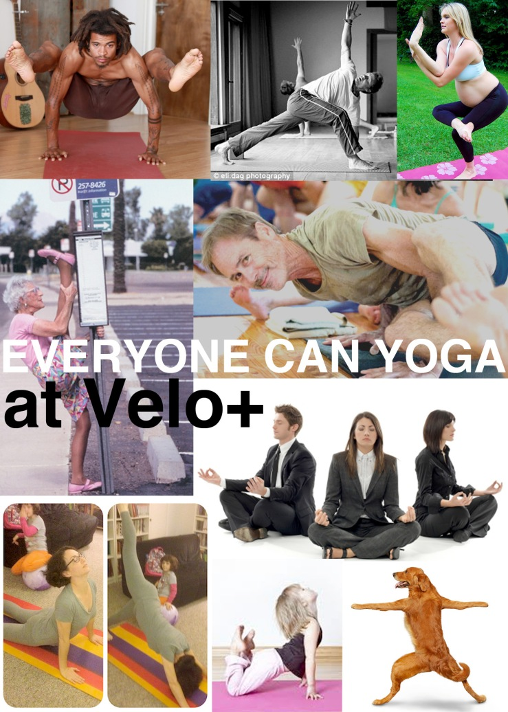 EVERYONE can yoga!